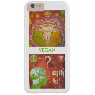 Vegan is life barely there iPhone 6 plus case