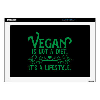 Vegan is not a Diet Decal For Laptop
