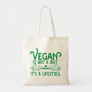 Vegan is not a Diet Tote Bag