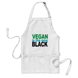Vegan is the New Black Adult Apron