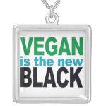 Vegan is the New Black Jewelry