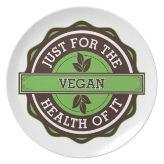 Vegan Just For the Health of It Dinner Plates