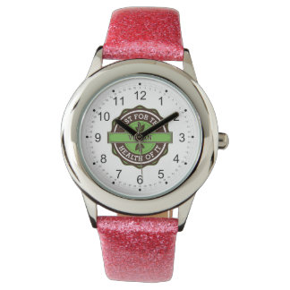 Vegan Just For the Health of It Wristwatch