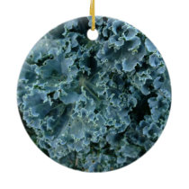 Vegan Kale Christmas Ornament