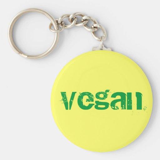 Vegan Keychain