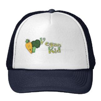 Vegan Kid Baseball Cap Trucker Hat