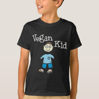 Vegan Kid Boys Shirt