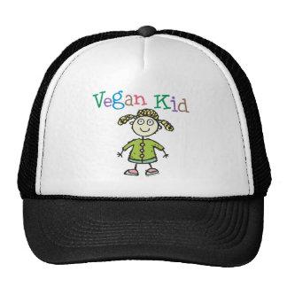 Vegan Kid Girl Hat