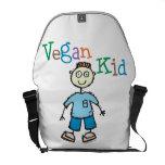 Vegan Kid Messenger Bags