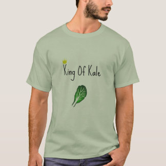 Vegan 'King of Kale' Art Design T-Shirt