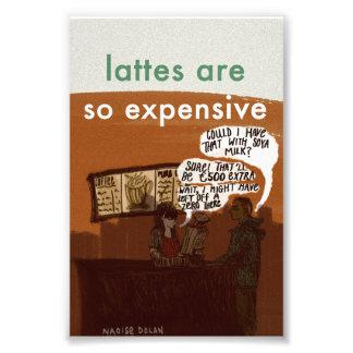 Vegan Latte Print