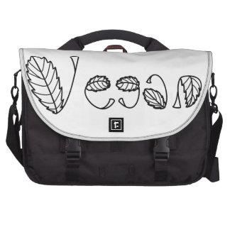 Vegan Leaves Bags For Laptop