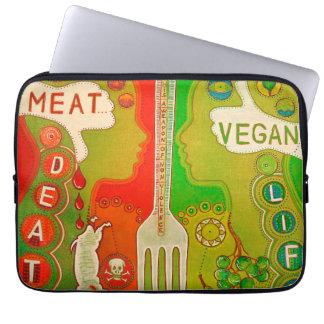 Vegan life like computer cover laptop computer sleeves