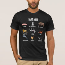 Vegan Life Statement Rescue Animal Rights Veggie T-Shirt