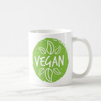 Vegan Light green Coffee Mug