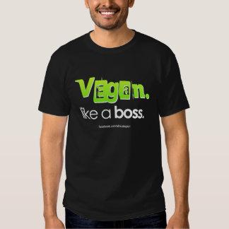 Vegan. Like A Boss. Shirts