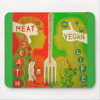 Vegan like mouse pad