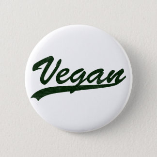 Vegan Logo Badge Button