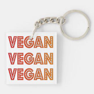 Vegan Logo Keychain