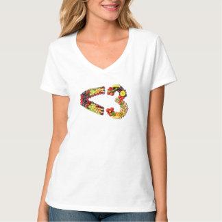 VEGAN LOVE -  <3 Smart Heart T-Shirt