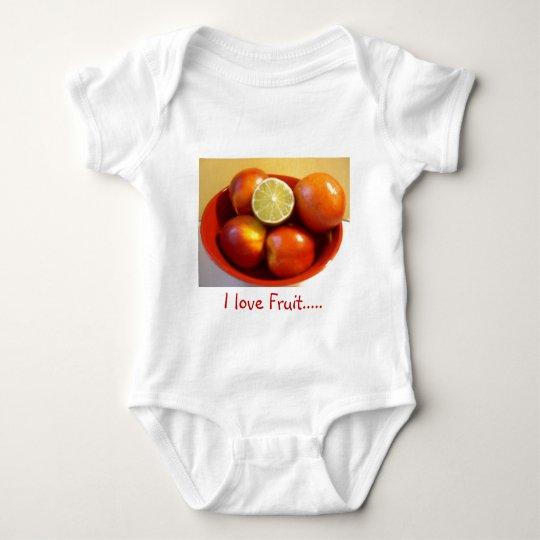 Vegan Love Baby Bodysuit