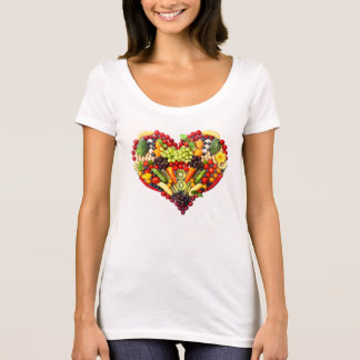 VEGAN LOVE -  your Heart T-Shirt