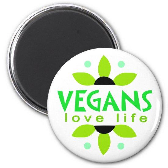 Vegan magnet