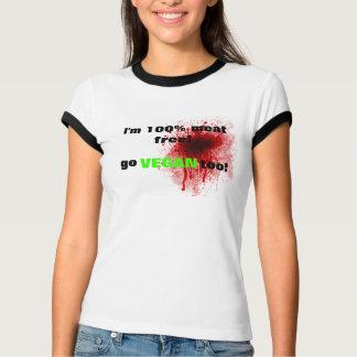 Vegan meat free T-shirt