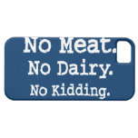 Vegan Message with Attitude iPhone 5 Case