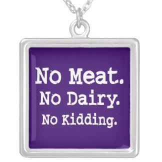 Vegan Message with Attitude Custom Jewelry
