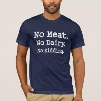 Vegan Message with Attitude T-Shirt