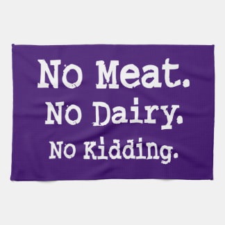 Vegan Message with Attitude Towels