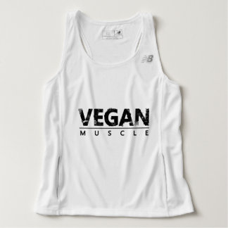 Vegan Muscle Tank Top