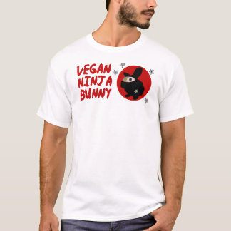 Vegan Ninja Bunny T-Shirt