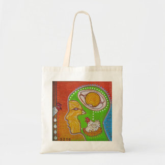 vegan No egg Tote Bag