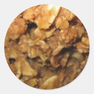 Vegan Oatmeal Cookies Classic Round Sticker