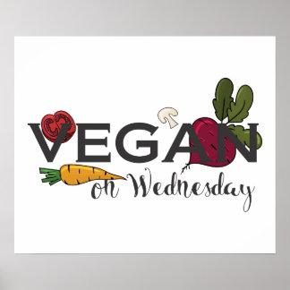 Vegan on Wednesday Poster