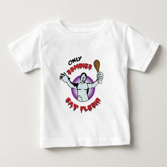 Vegan: Only Zombies Eat Flesh Baby T-Shirt