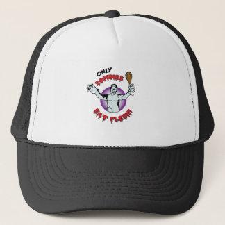 Vegan: Only Zombies Eat Flesh Trucker Hat