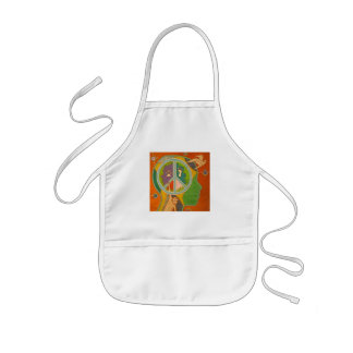 Vegan peace kids' apron