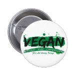 Vegan Peace Love Compassion Buttons