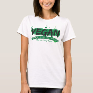 Vegan Peace Love Compassion T-Shirt