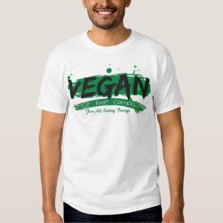 Vegan Peace Love Compassion T-Shirt