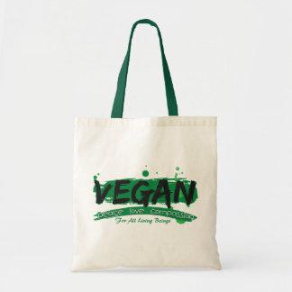 Vegan Peace Love Compassion Tote Bag