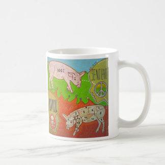 Vegan peace Mug