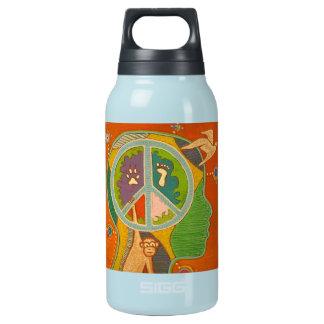 Vegan Peace Thermos Bottle