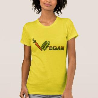 Vegan Peas and Carrots Tee Shirts