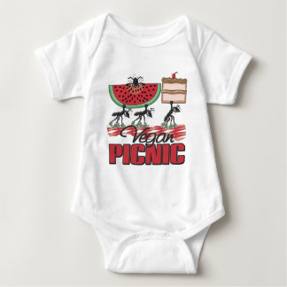 Vegan Picnic Vegan Baby Baby Bodysuit