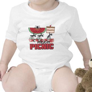Vegan Picnic Vegan Baby Tee Shirt