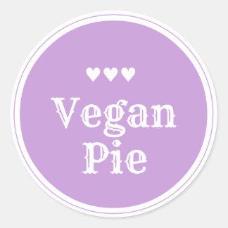 Vegan Pie sticker
